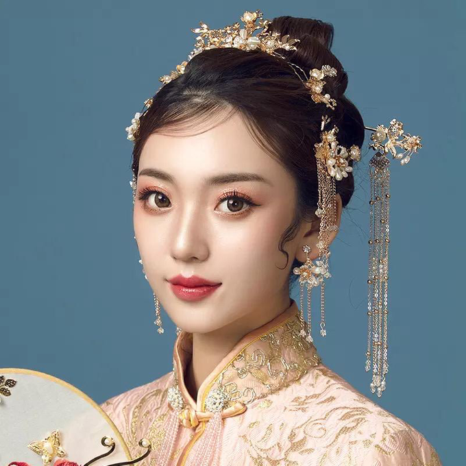 [SANGJIT HAIRPIECE] Empress Set by Jeestudio Id - 002