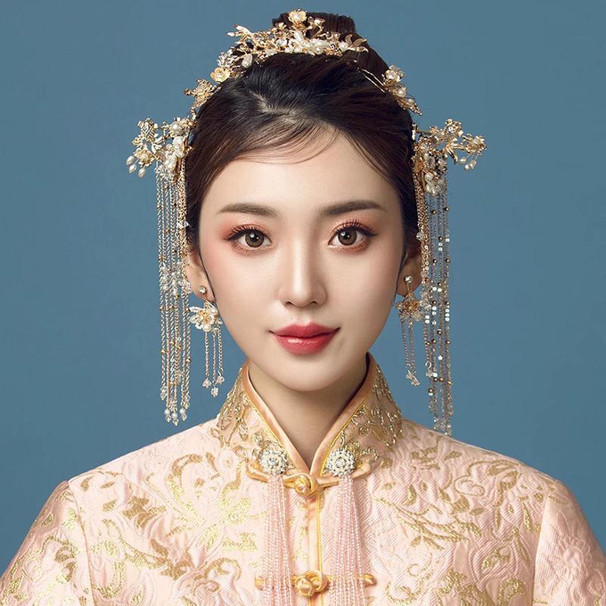 [SANGJIT HAIRPIECE] Empress Set by Jeestudio Id - 003