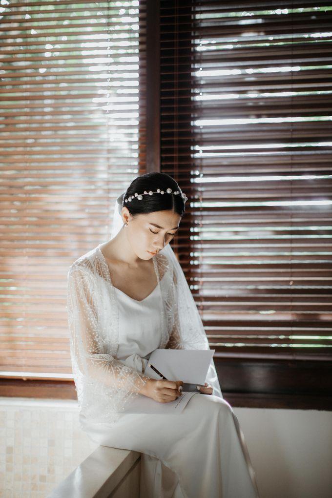Selebrasi pernikahan intimate dengan sentuhan bintang di tebing ungasan, Mengakhiri long-distance 6 tahun dengan selebrasi pernikahan di Ungasan by THE UNGASAN CLIFFTOP RESORT BALI - 005