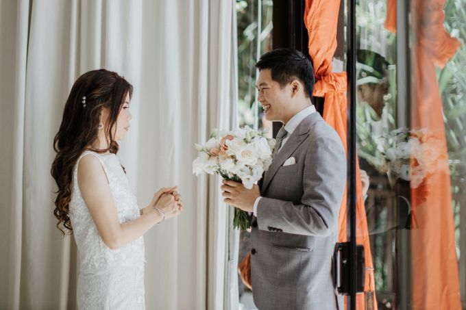 The Wedding of Jeffry and Kathrin by THE UNGASAN CLIFFTOP RESORT BALI - 011
