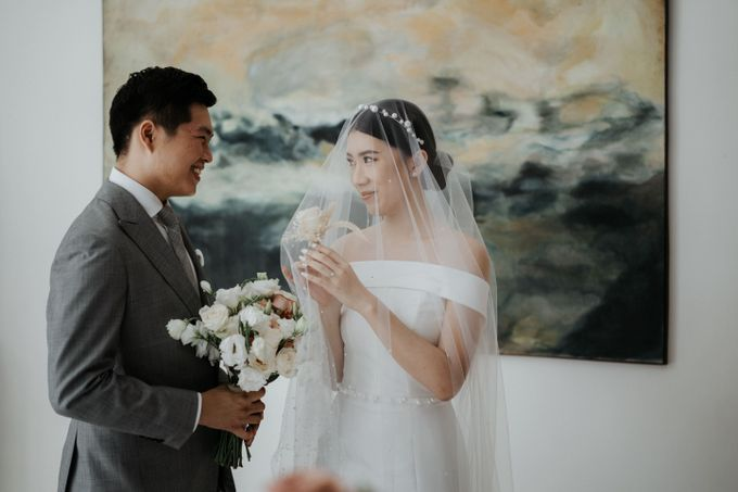 The Wedding of Jeffry and Kathrin by THE UNGASAN CLIFFTOP RESORT BALI - 006