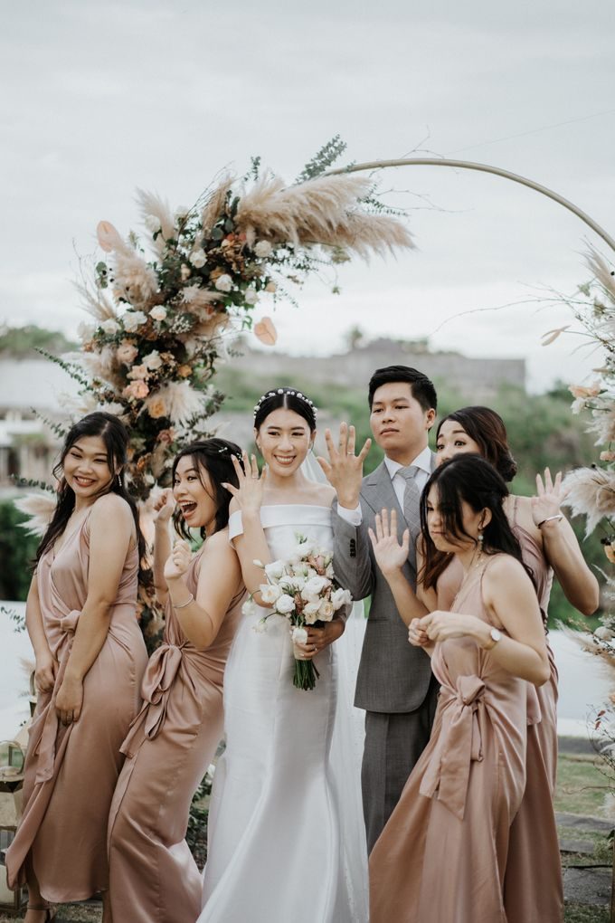 The Wedding of Jeffry and Kathrin by THE UNGASAN CLIFFTOP RESORT BALI - 007