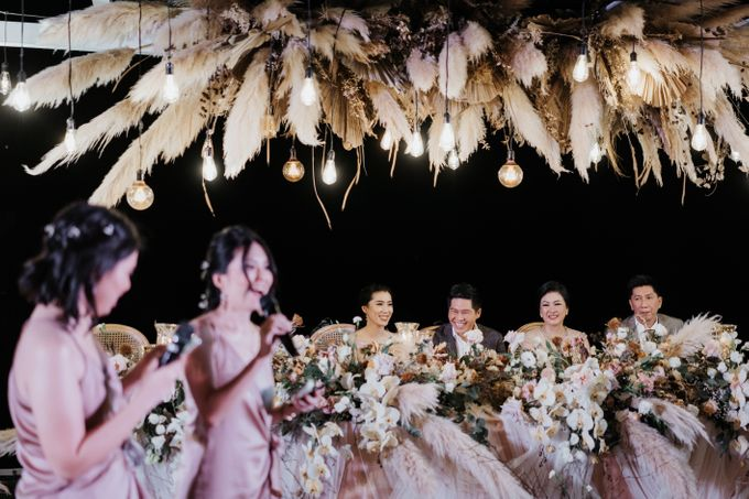Wedding day of Jeffry & Kathrin at The Ungasan Uluwatu Bali Villas by THE UNGASAN CLIFFTOP RESORT BALI - 013