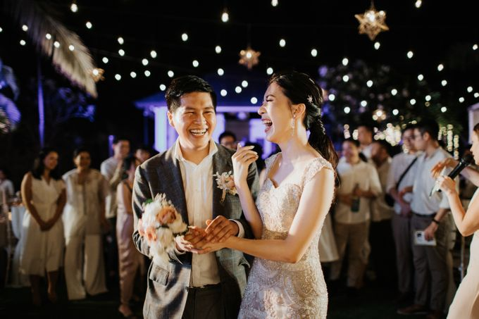 Wedding day of Jeffry & Kathrin at The Ungasan Uluwatu Bali Villas by THE UNGASAN CLIFFTOP RESORT BALI - 015