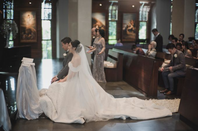 Jeffry & Elsie Wedding by David Salim Photography - 003