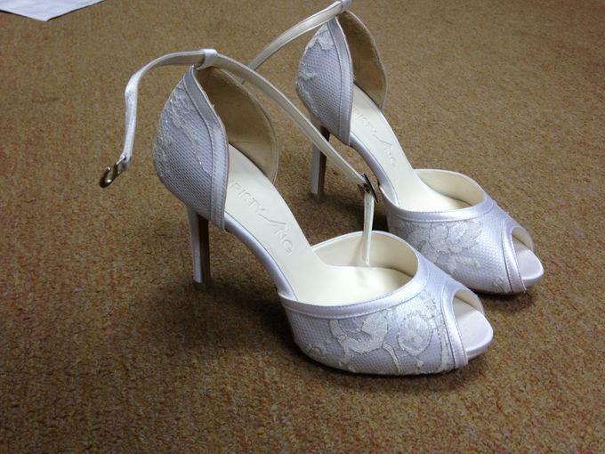 Bridal Shoe Close Ups by Christy Ng Shoes - 032