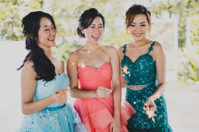 Three Beautiful Brides by Jennis Wong Makeup - 010