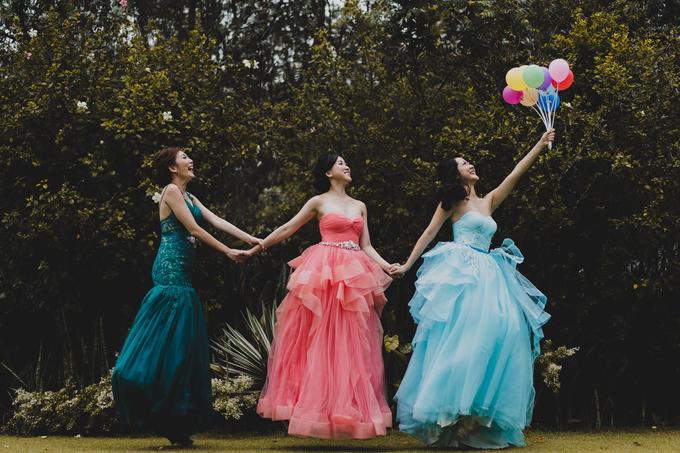 Three Beautiful Brides by Jennis Wong Makeup - 011