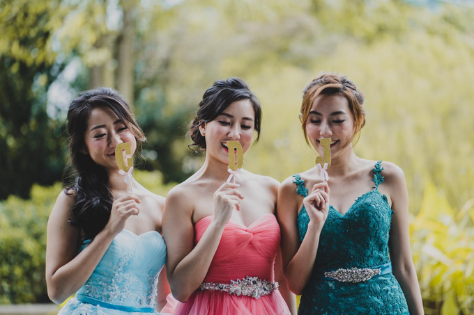 Three Beautiful Brides by Jennis Wong Makeup - 009