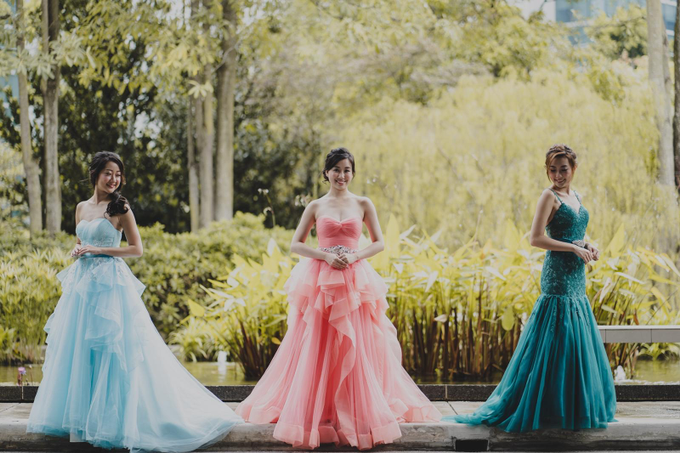 Three Beautiful Brides by Jennis Wong Makeup - 008