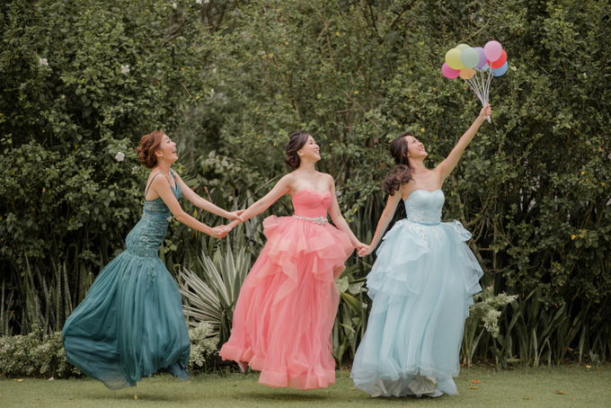 Three Beautiful Brides by Jennis Wong Makeup - 013