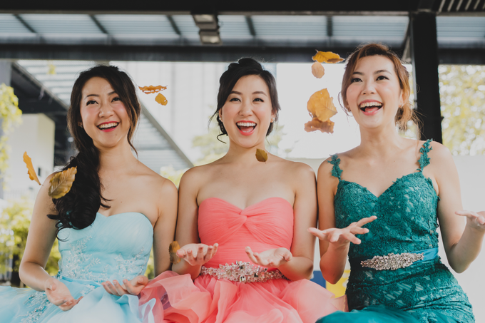 Three Beautiful Brides by Jennis Wong Makeup - 014