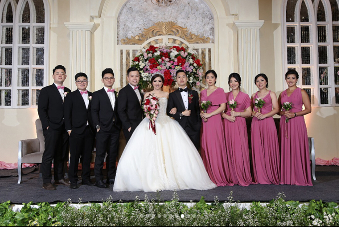MICHAEL JESSICA WEDDING by bridestore indonesia - 003
