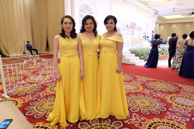 Bridesmaids Dresses by Jessica Huang - 001
