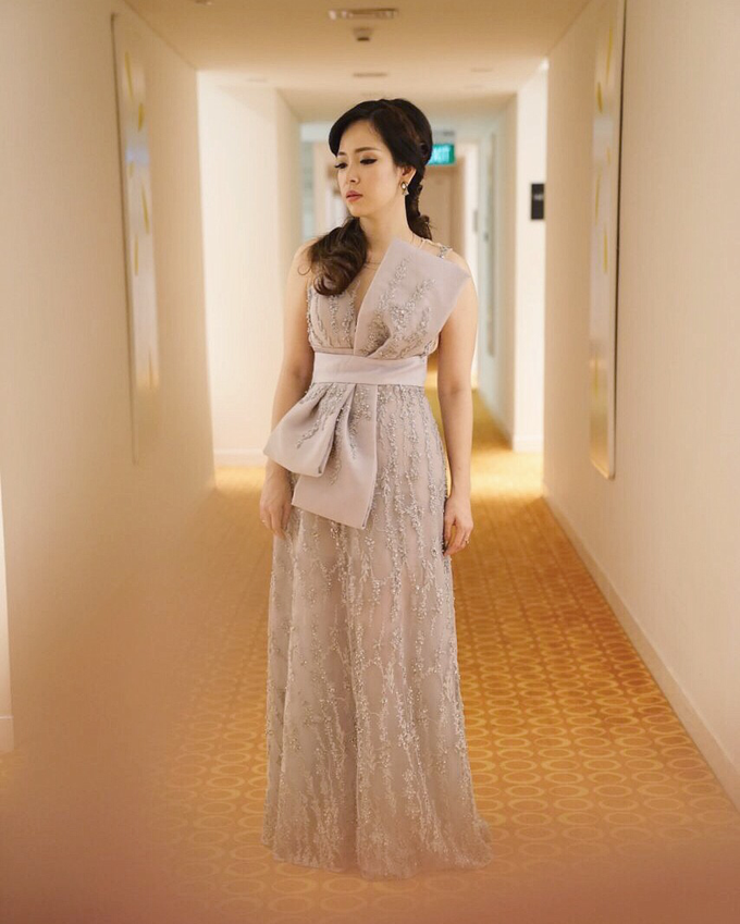 Cousins/ family of the Bride/ Groom Gowns by Jessica Huang - 001