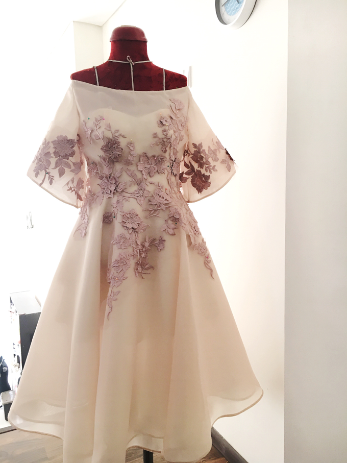 Cousins/ family of the Bride/ Groom Gowns by Jessica Huang - 003