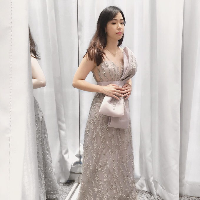 Cousins/ family of the Bride/ Groom Gowns by Jessica Huang - 004
