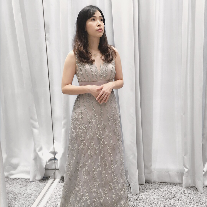 Cousins/ family of the Bride/ Groom Gowns by Jessica Huang - 005