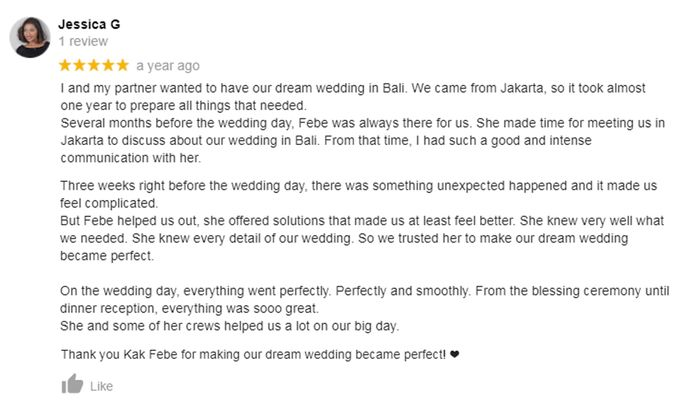 Client Review by White Roses Planner - 003