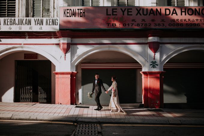 Local Malaysia Engagement & Pre-Wedding of Zoe & Wairen by Jessielyee. - 005