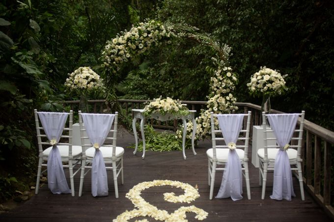 Enchanted  Wedding Package with waterfall as the Background by The Kayon, Truly Ubud Resort - 006