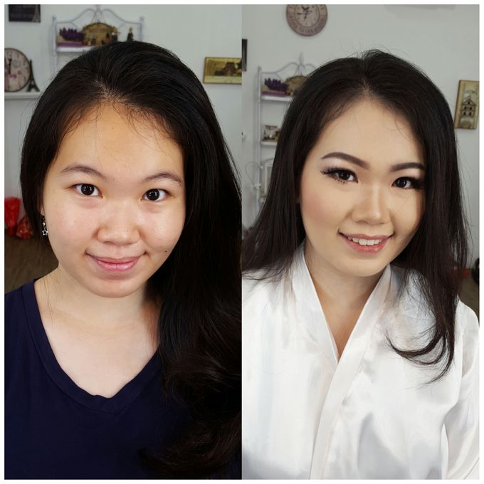 Wedding Makeup Trial For Ms. Yuli by Chesara Makeup - 001