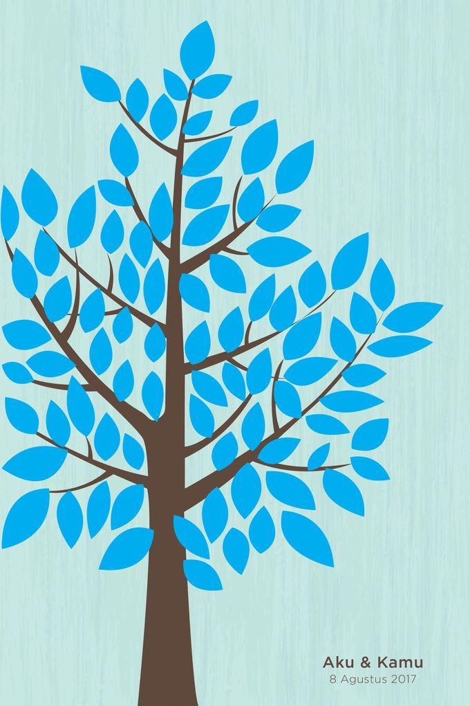 Canvas Guestbook Wedding Artwork (Tree-02) by Bikinseru.aja - 007