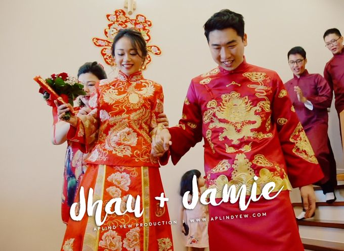 Jhau & Jamie - Wedding Actual Day Cinematic Video by Aplind Yew Production - Wedding Cinematography & Photography - 001