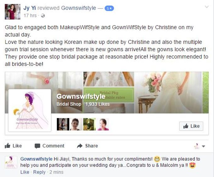Reviews from Clients by Makeupwifstyle - 002