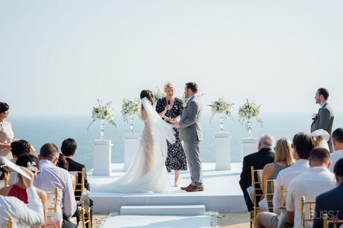 Wedding at villa Aye Phuket Thailand by BLISS Events & Weddings Thailand - 004