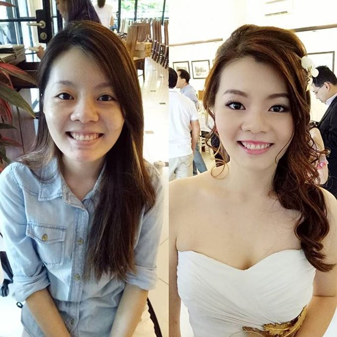 Bridal Makeovers by Star Glamour Artistry Pte Ltd - 004