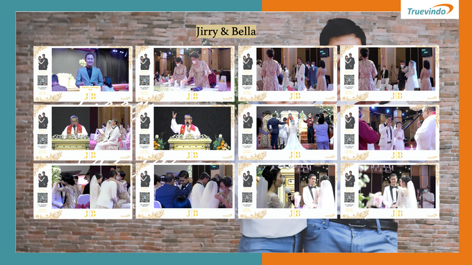 Jirry & Bella Virtual Online Wedding Live Streaming Holy Matrimony by Truevindo - 001