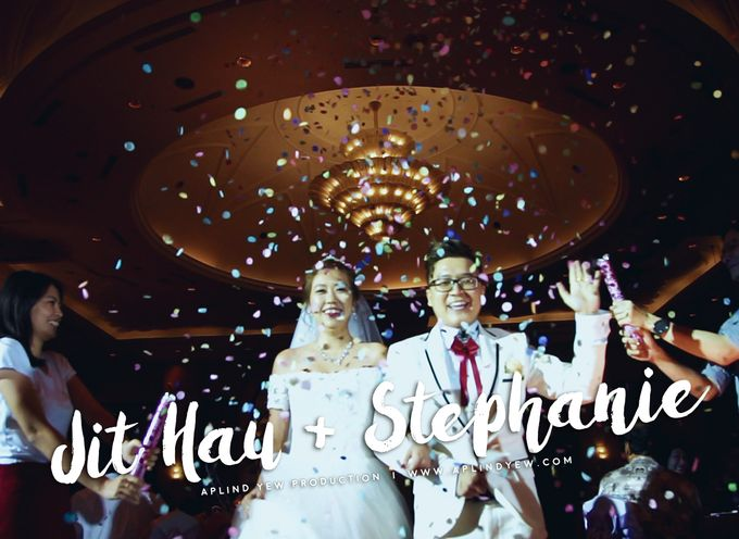 Jithau & Stephanie - Wedding Actual Day Cinematic Video by Aplind Yew Production - Wedding Cinematography & Photography - 001