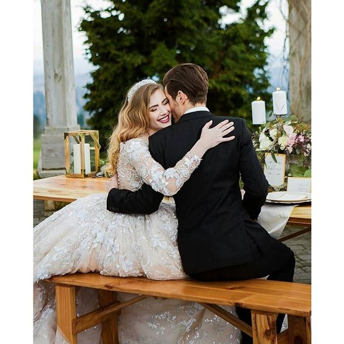 New Castle Wedding by MeaMarie Bridal Atelier - 004