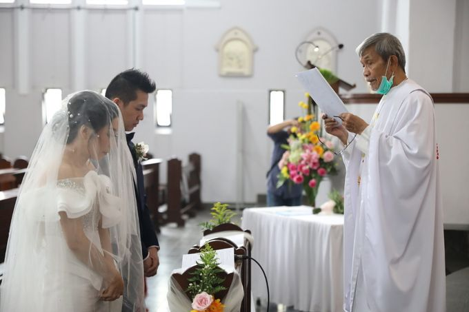 William & Selvi Wedding at Hilton Hotel by PRIDE Organizer - 022