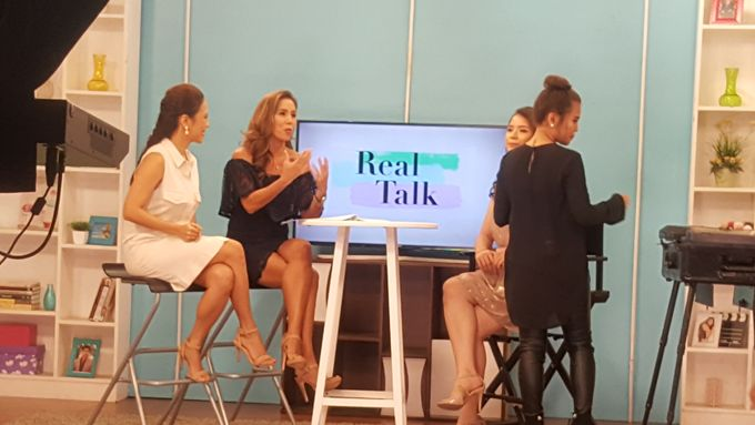 Makeup Demo For Valentines Day On Real Talk Show by Makeup by Marjorie - 001