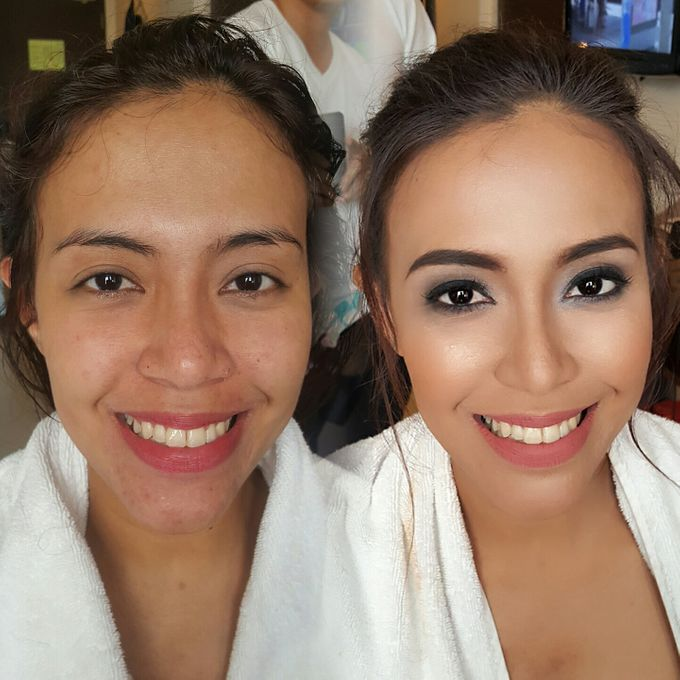 Before And After by Makeup by Marjorie - 002