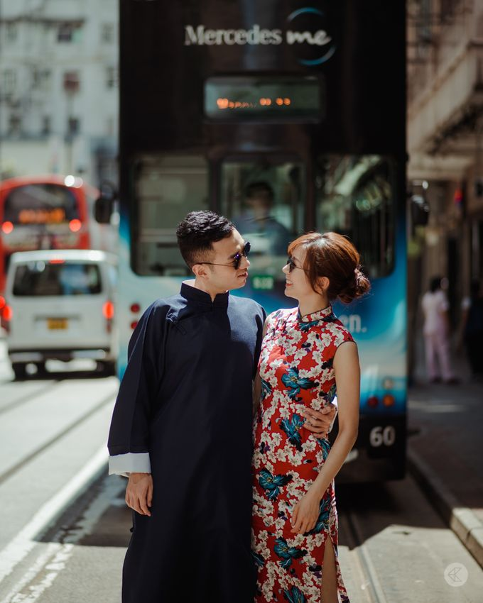 Jimmy & Nicole - Oriental Engagement Portraits by Chester Kher Creations - 002