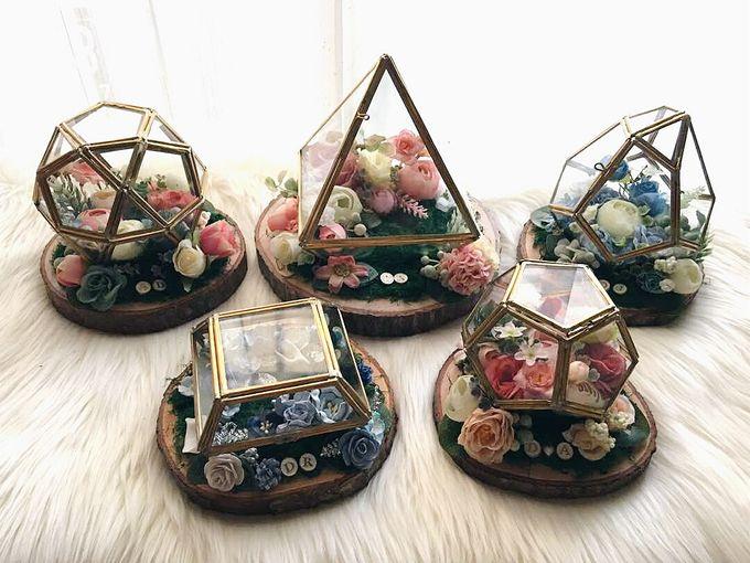 Wedding Ring Box by Primrose Floral Design - 031