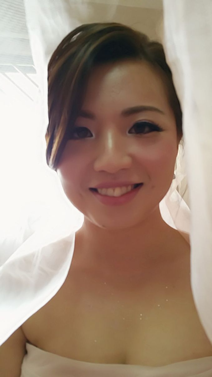 Wedding Makeup and hairstyling by Weiyee-makeup - 001