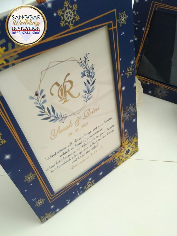 YUSAK & LOINI (Sapphire Frame Box Luxury) by Sanggar Undangan - 001