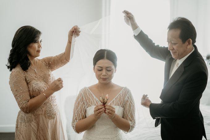 Wedding of Tony & Ivana at Ocha Bella Morrisey Hotel Jakarta by Sparkling Organizer - 004