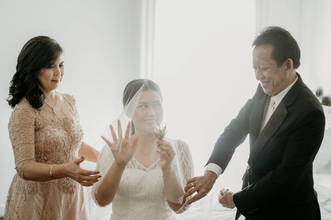 Wedding of Tony & Ivana at Ocha Bella Morrisey Hotel Jakarta by Sparkling Organizer - 005