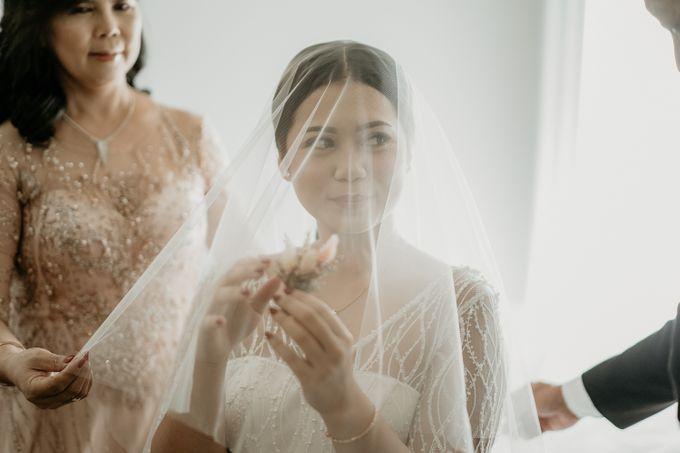 Wedding of Tony & Ivana at Ocha Bella Morrisey Hotel Jakarta by Sparkling Organizer - 006