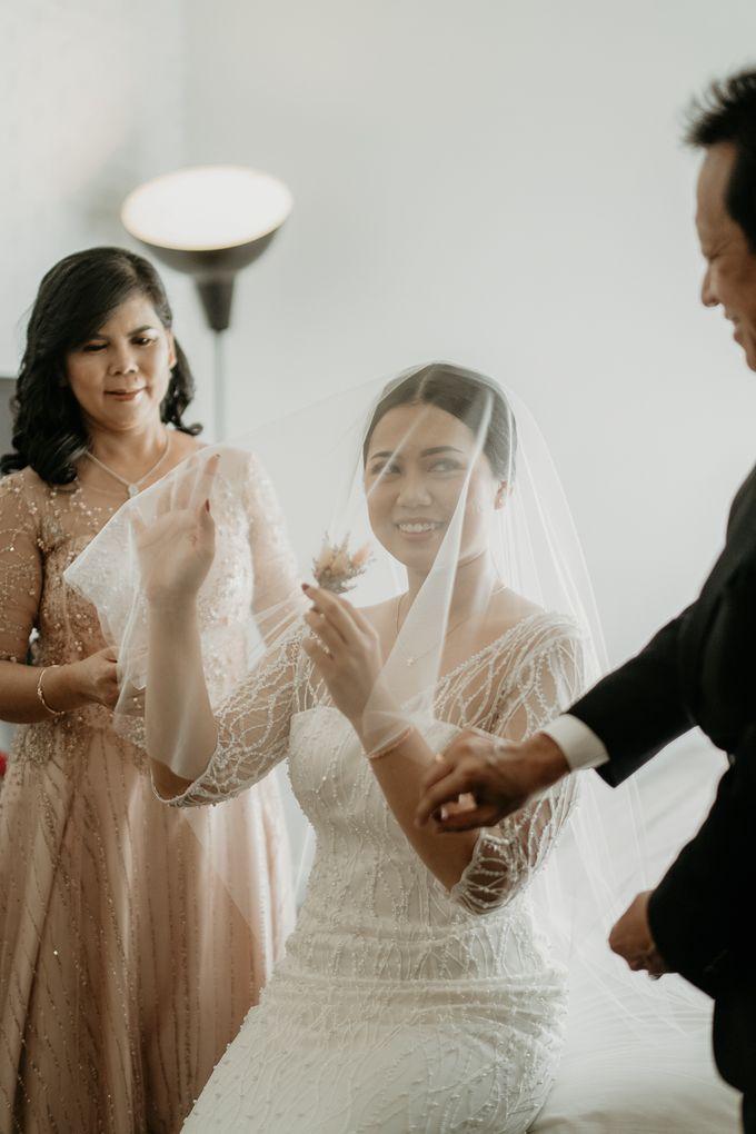 Wedding of Tony & Ivana at Ocha Bella Morrisey Hotel Jakarta by Sparkling Organizer - 007