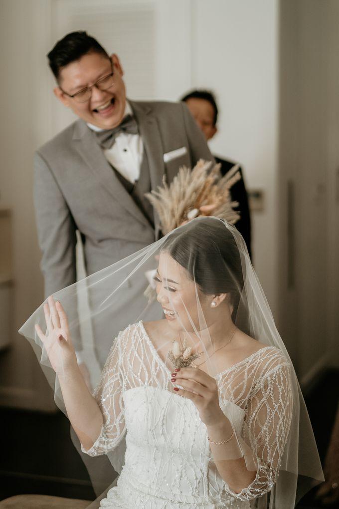 Wedding of Tony & Ivana at Ocha Bella Morrisey Hotel Jakarta by Sparkling Organizer - 009