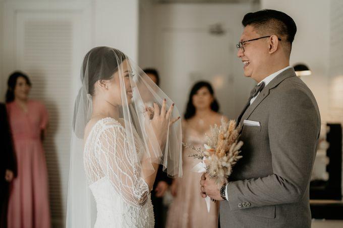 Wedding of Tony & Ivana at Ocha Bella Morrisey Hotel Jakarta by Sparkling Organizer - 011