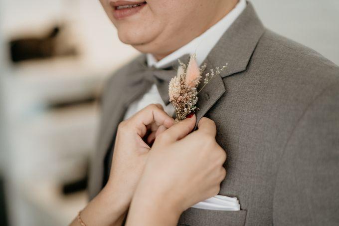 Wedding of Tony & Ivana at Ocha Bella Morrisey Hotel Jakarta by Sparkling Organizer - 012