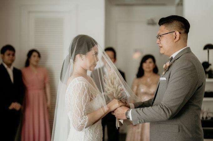 Wedding of Tony & Ivana at Ocha Bella Morrisey Hotel Jakarta by Sparkling Organizer - 013