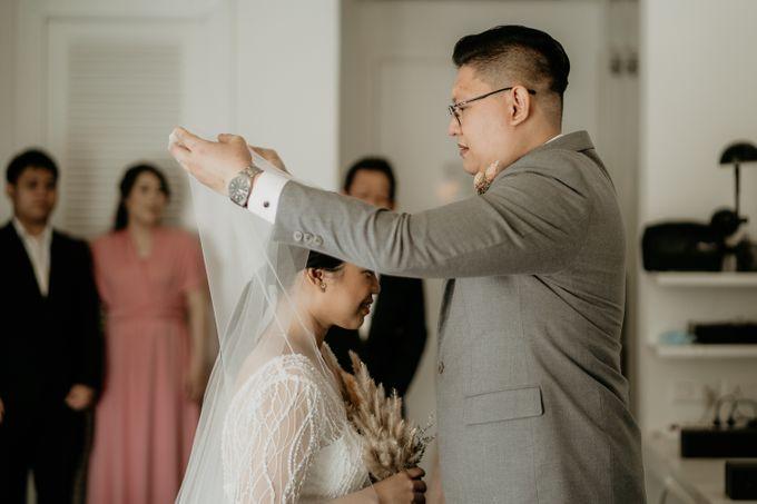 Wedding of Tony & Ivana at Ocha Bella Morrisey Hotel Jakarta by Sparkling Organizer - 014